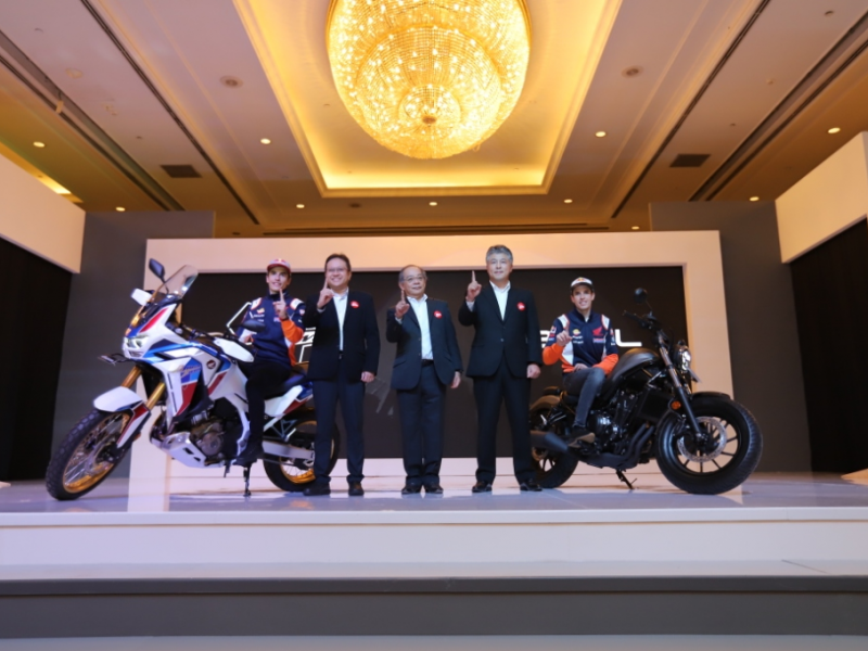 AHM Rilis Honda CRF1100L Africa Twin Adventure Sports